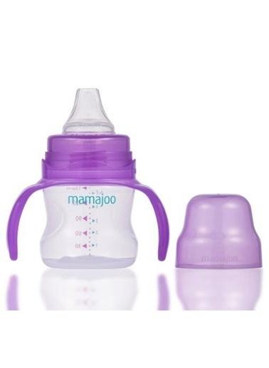 Mamajoo Kız Bebek Kulplu Damlatmaz Eğitici Bardak 160 Ml-Mor2889 Renkli